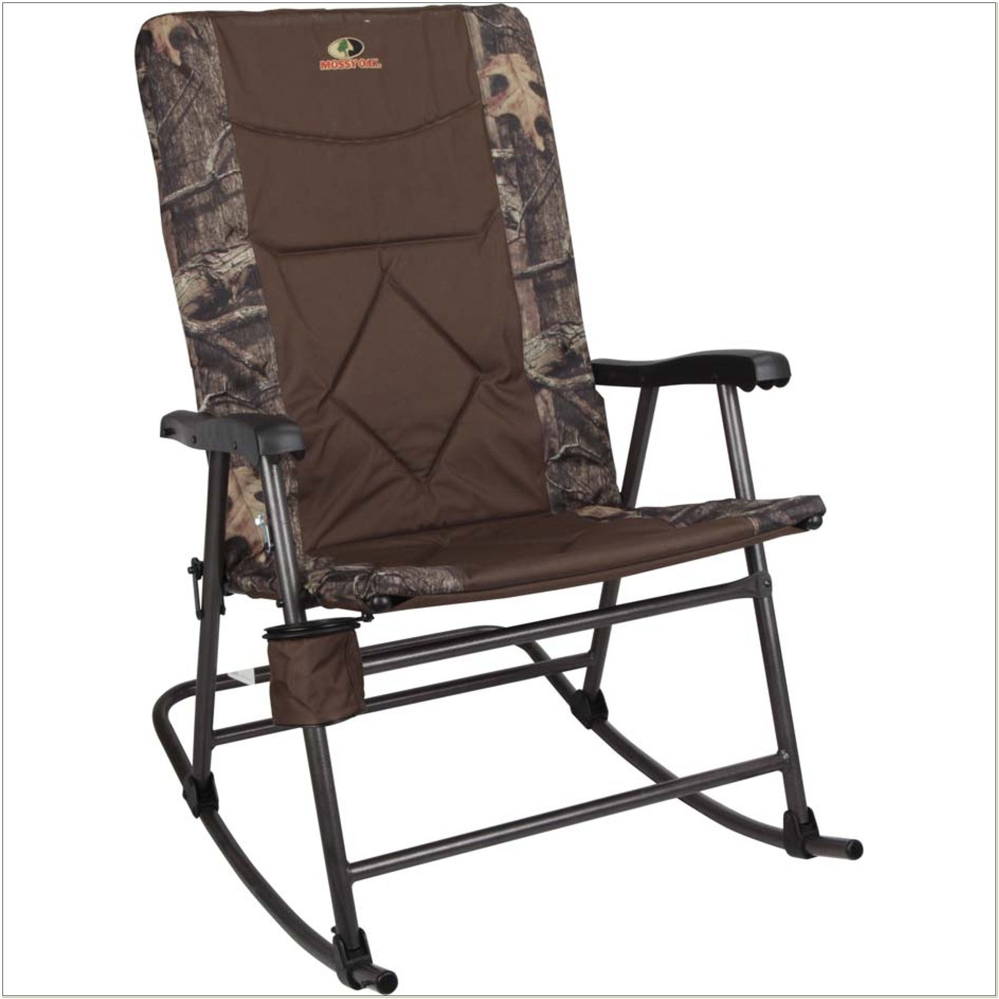 Mossy Oak Breakup Infinity Folding Rocking Chair