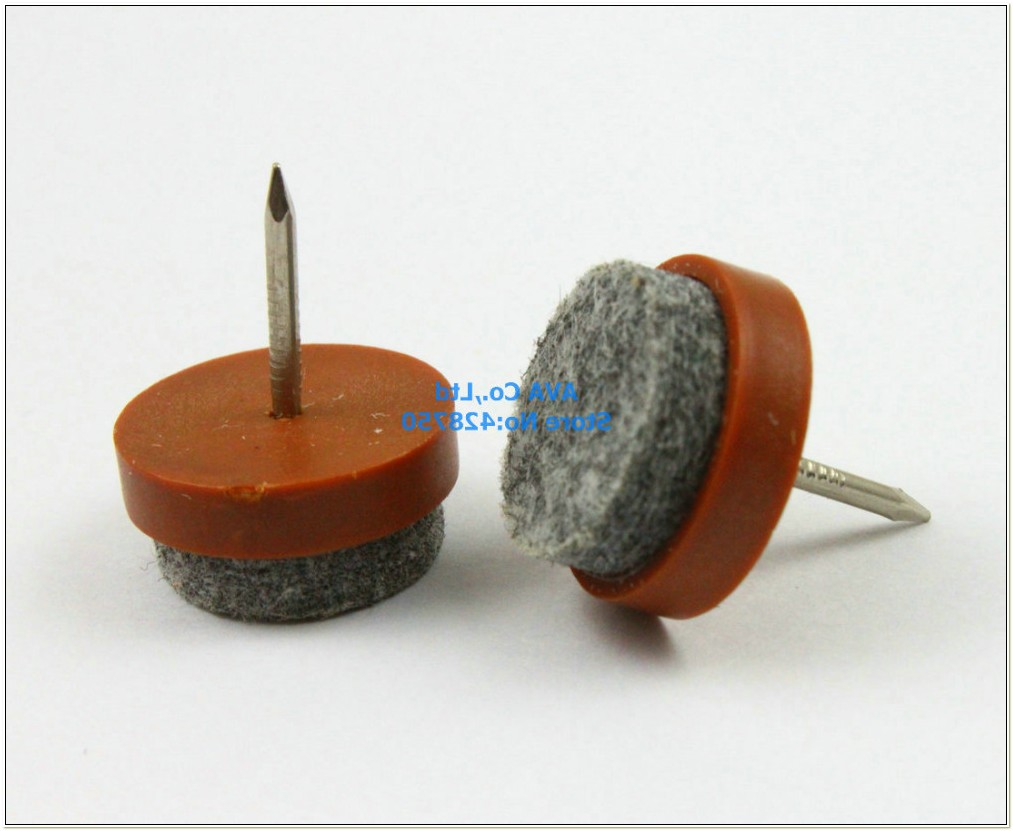 Nail On Felt Glides For Chairs