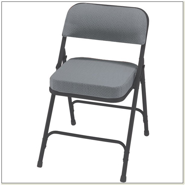 National Public Seating Padded Folding Chairs