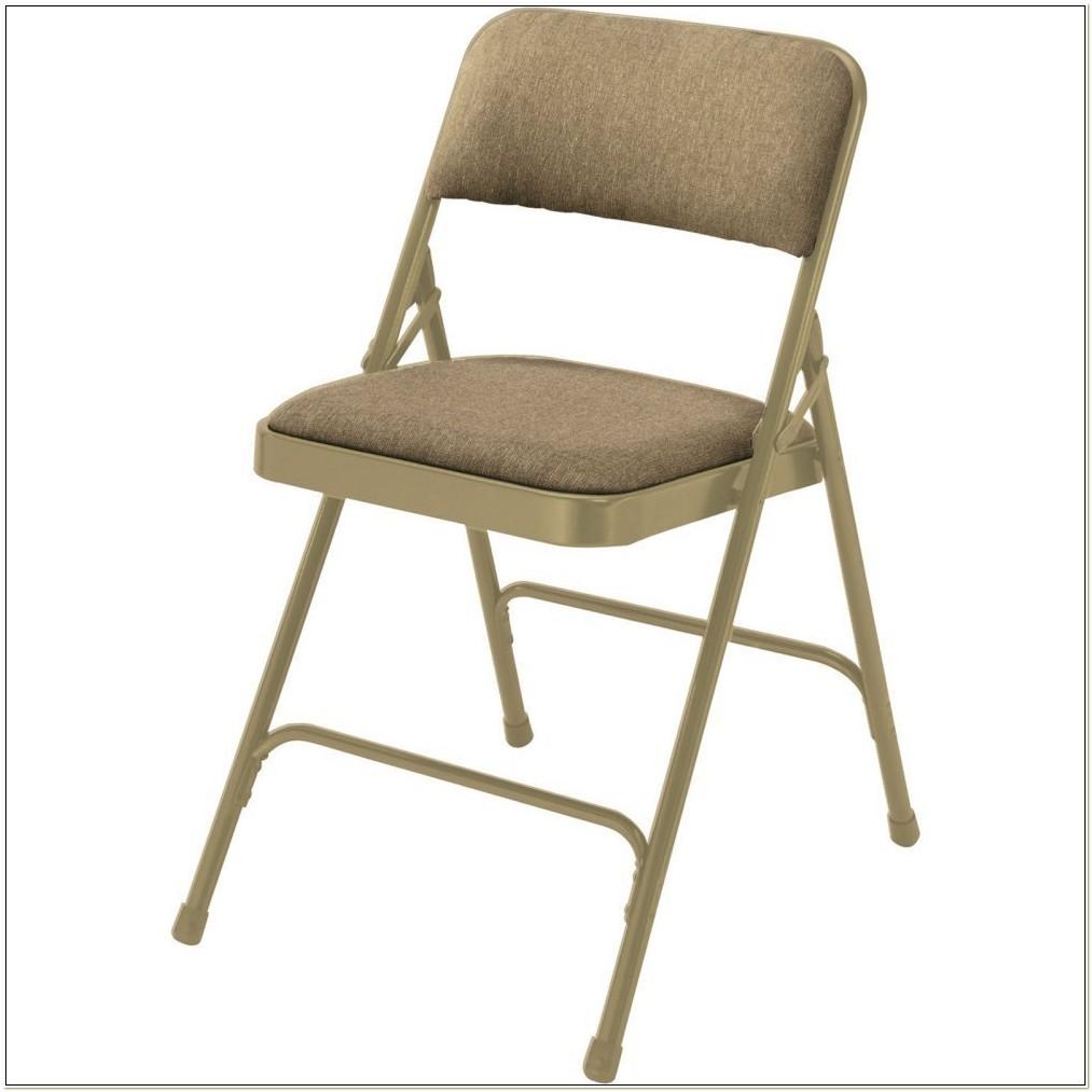 National Public Seating Premium Fabric Folding Chair