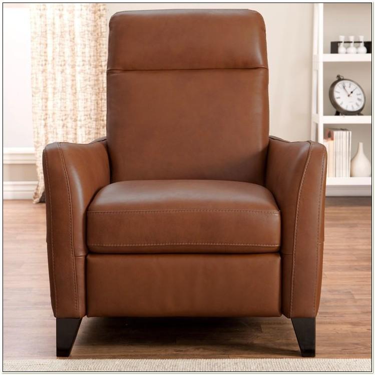 Natuzzi Top Grain Leather Swivel Chair