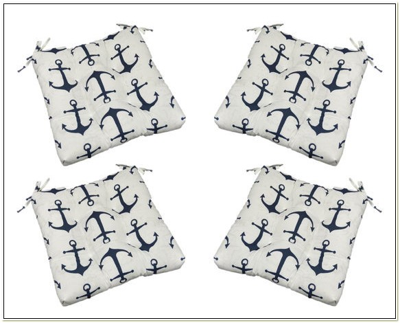 Nautical Outdoor Chair Cushions