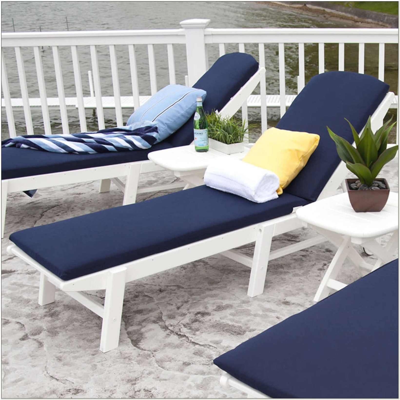Nautical Patio Furniture Cushions