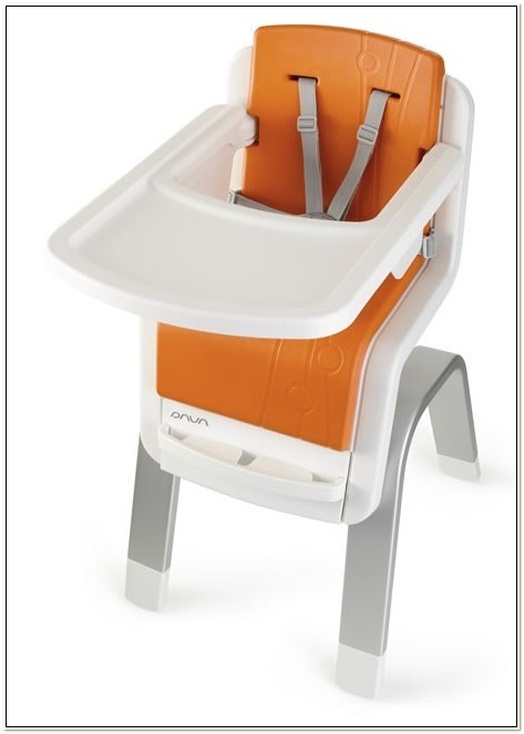 Nuna Zaaz High Chair Orange