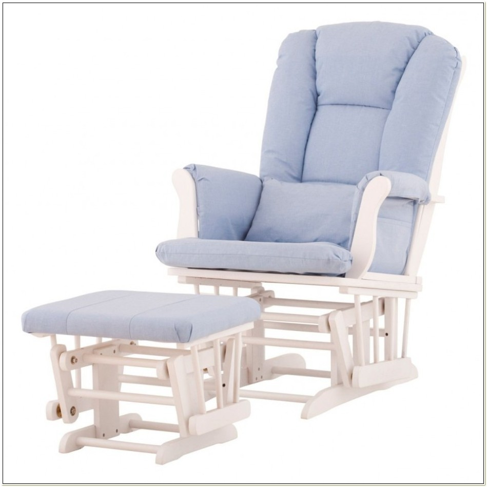 Nursery Rocking Chair And Footstool