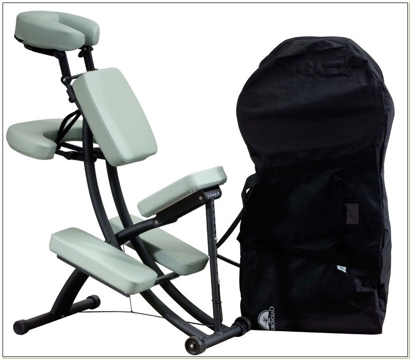 Oakworks Portable Massage Chair Used