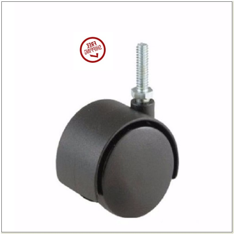 Office Chair Casters Threaded Stem