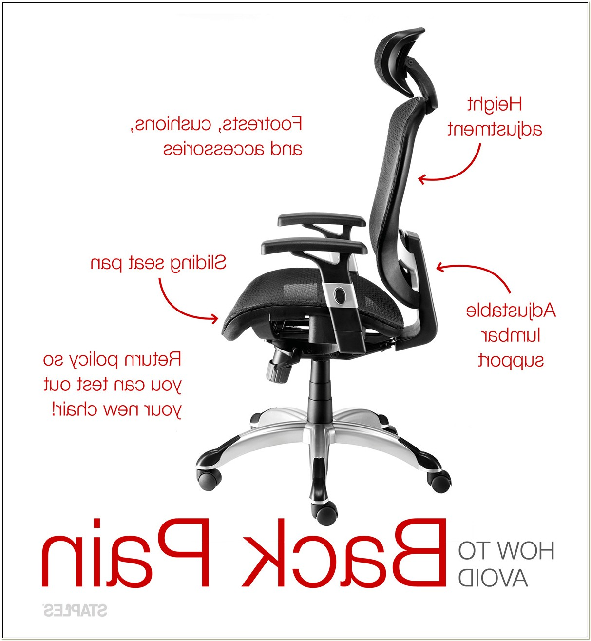 Office Furniture For Back Pain Sufferers