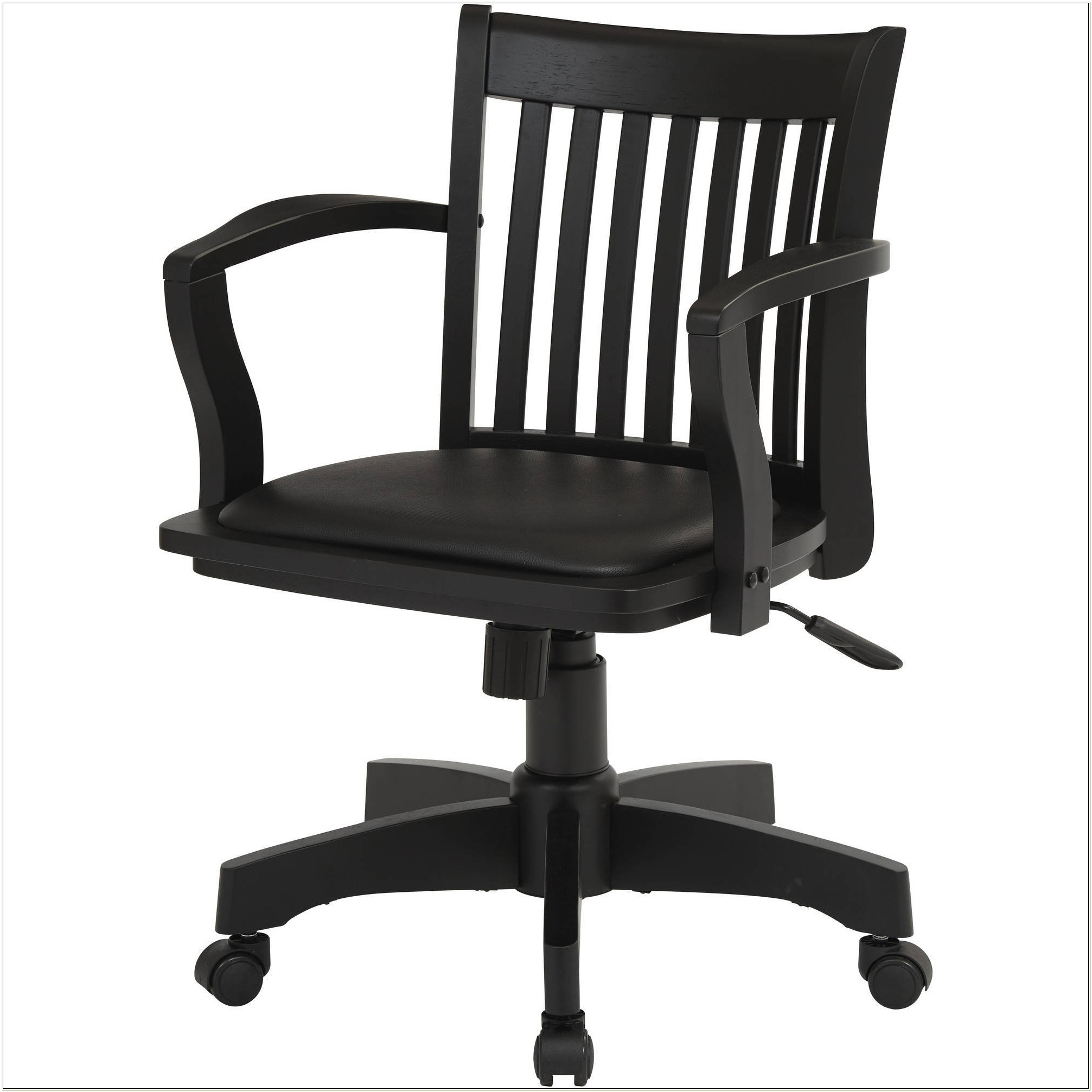 Office Star Wood Bankers Chair