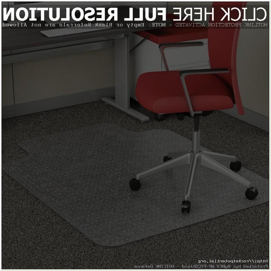 Officemax Bamboo Chair Mat
