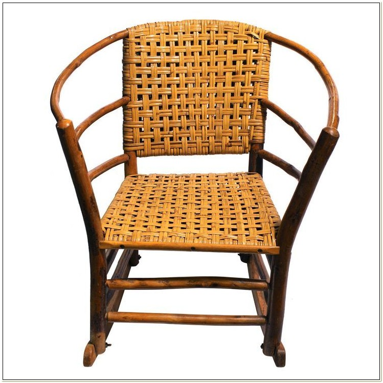 Old Hickory Rocking Chair Antique