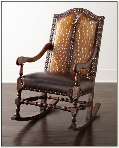 Old Hickory Tannery Rocking Chair