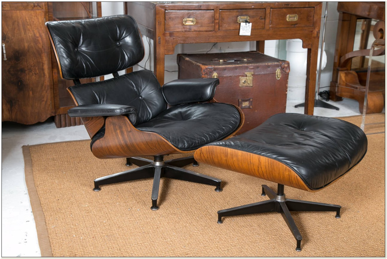 Original Eames Lounge Chair And Ottoman