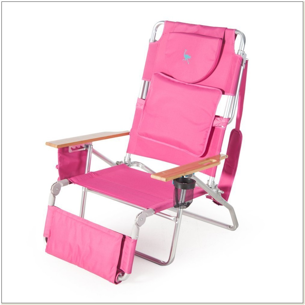 Ostrich 3n1 Beach Chair Pink