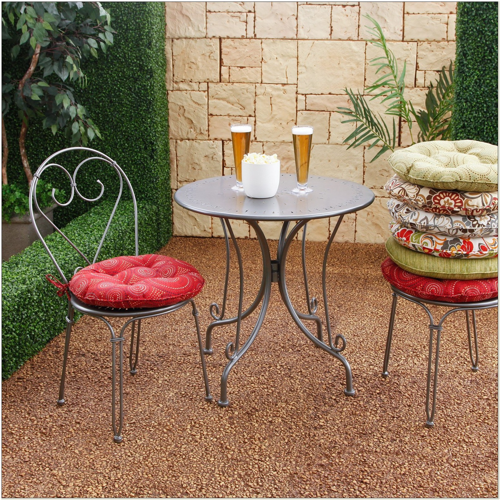 Outdoor Bistro Chair Pads