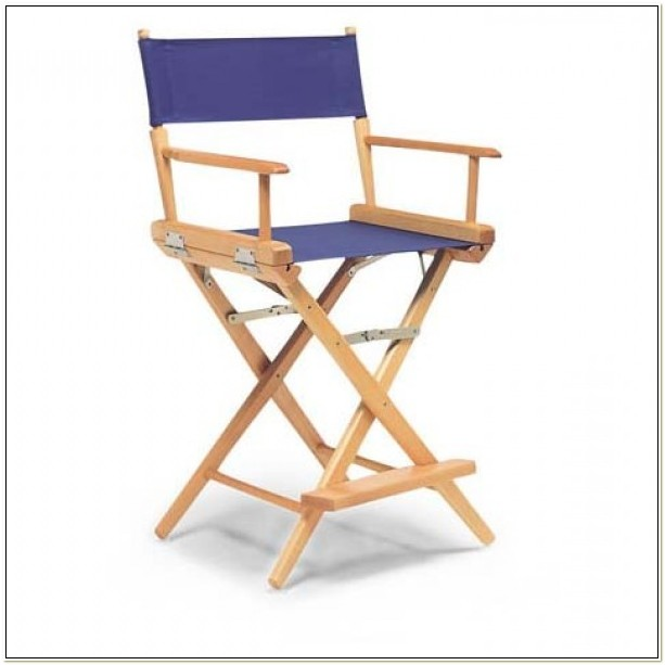 Outdoor Counter Height Directors Chair