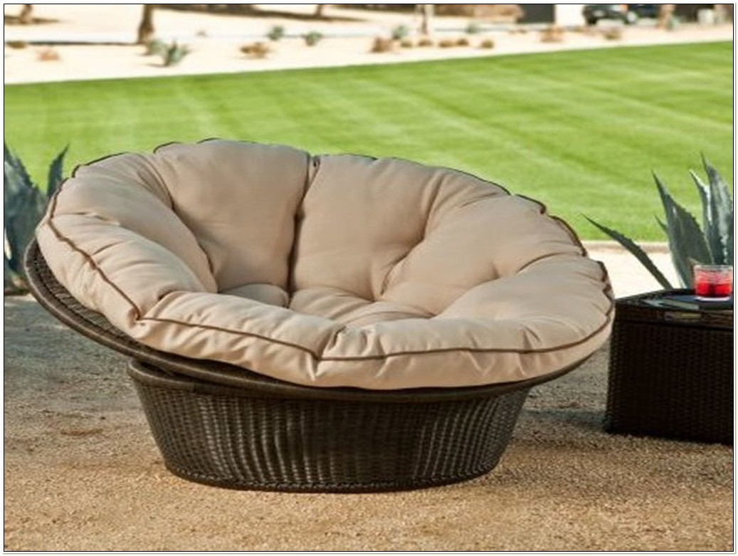 Outdoor Double Papasan Chair Frame