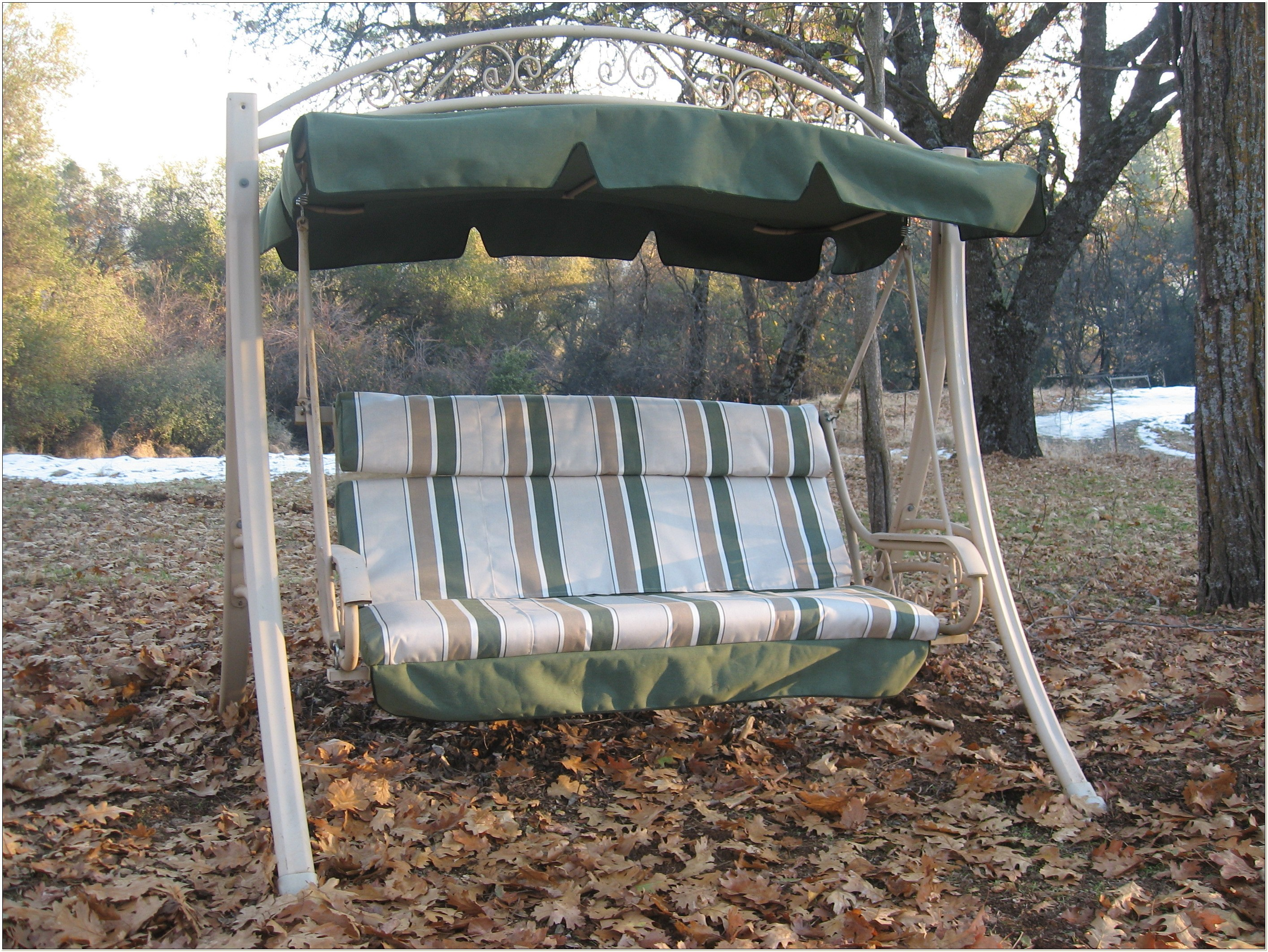 Outdoor Glider Chair Replacement Cushions
