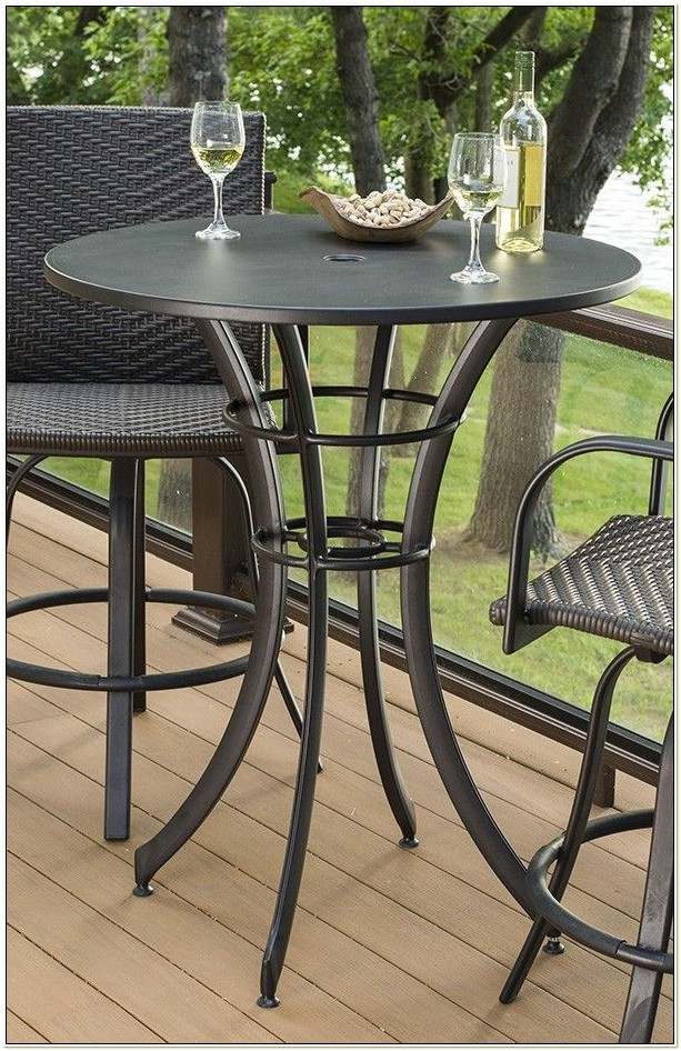 Outdoor High Top Bistro Table And Chairs