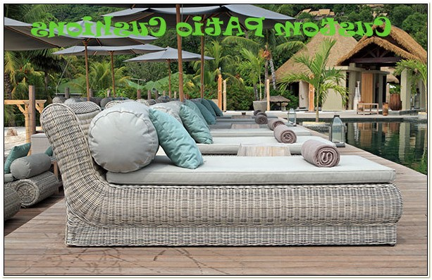 Outdoor Patio Furniture Cushions Waterproof
