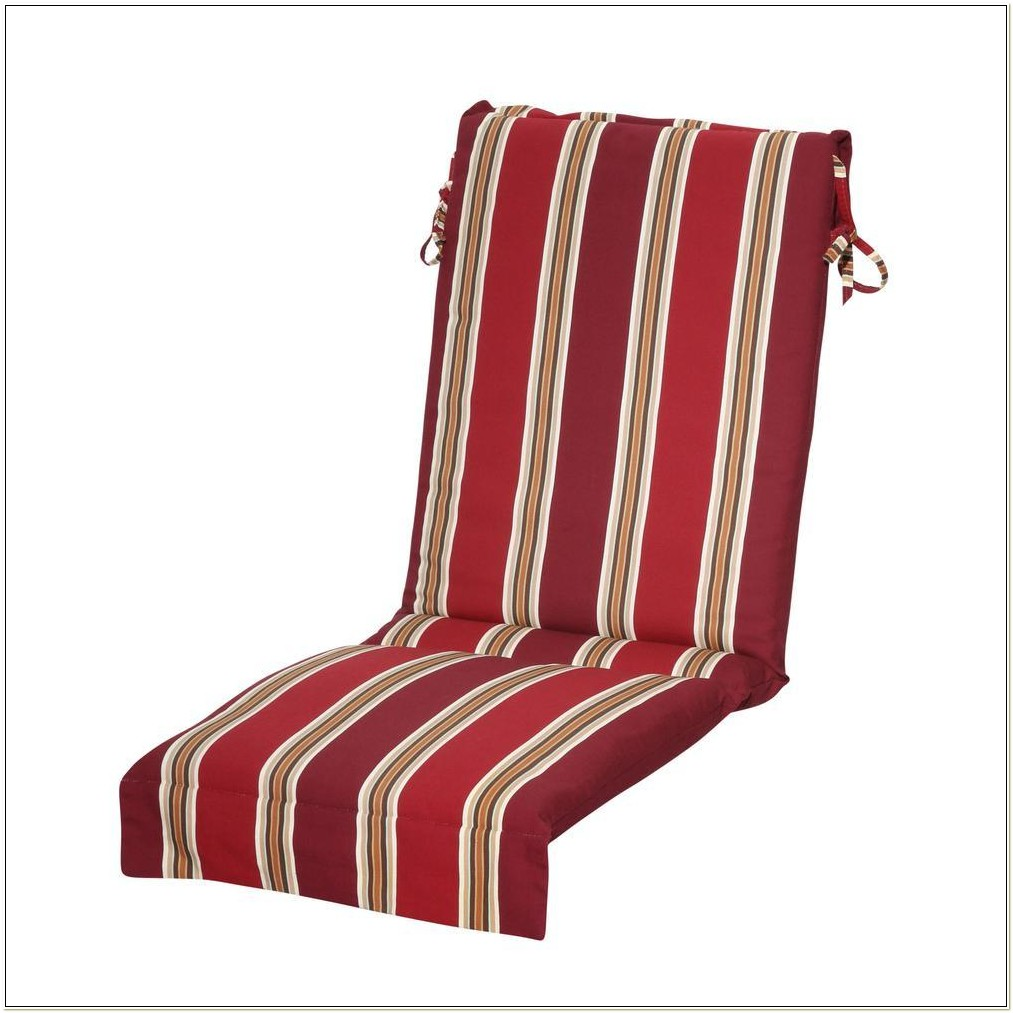 Outdoor Sling Back Chair Cushions