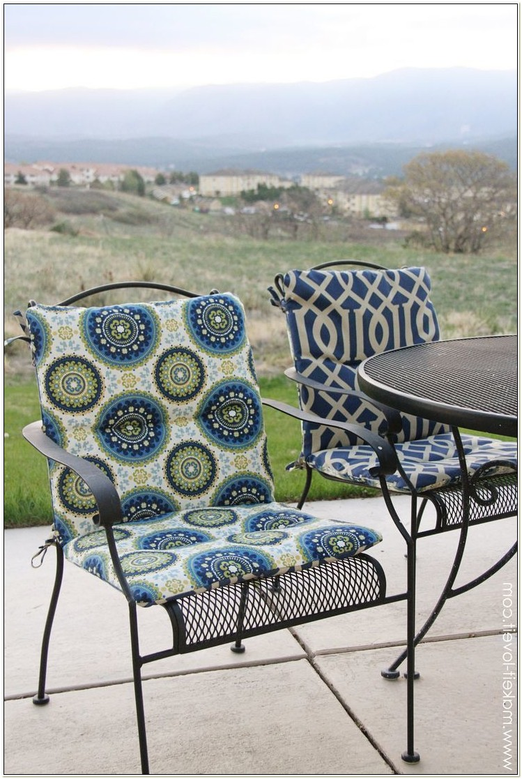 Oval Shaped Patio Chair Cushions
