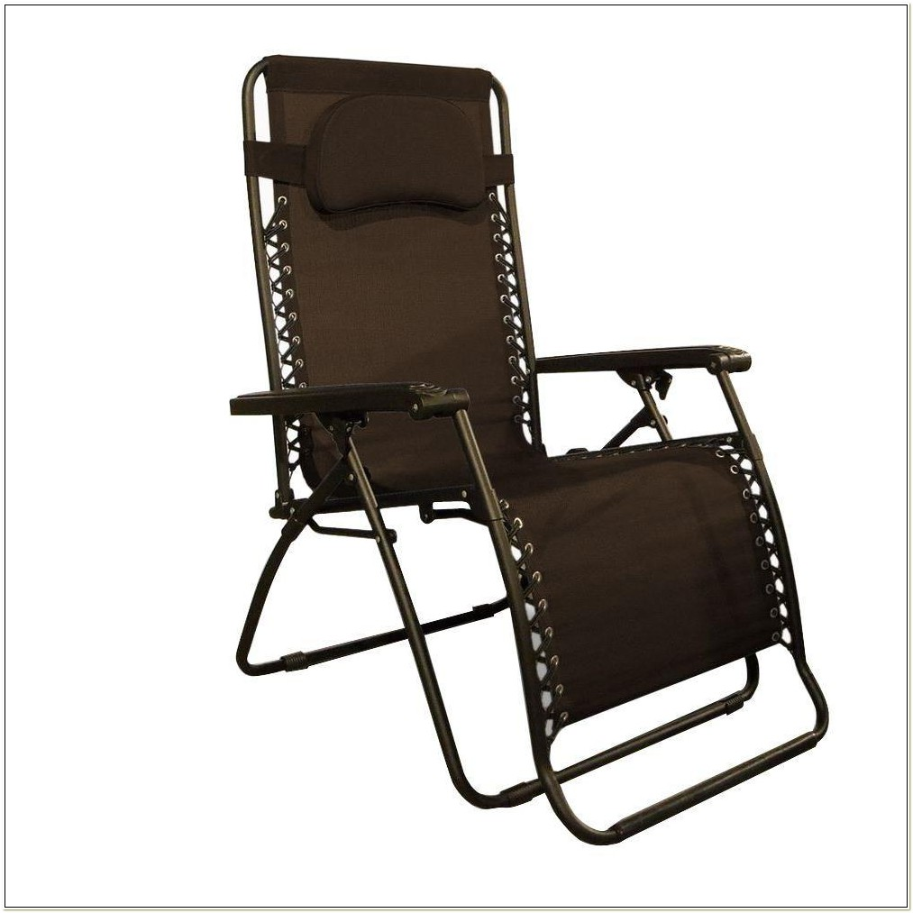 Oversized Zero Gravity Chair Dark Brown