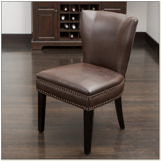 Overstock Leather Dining Chairs