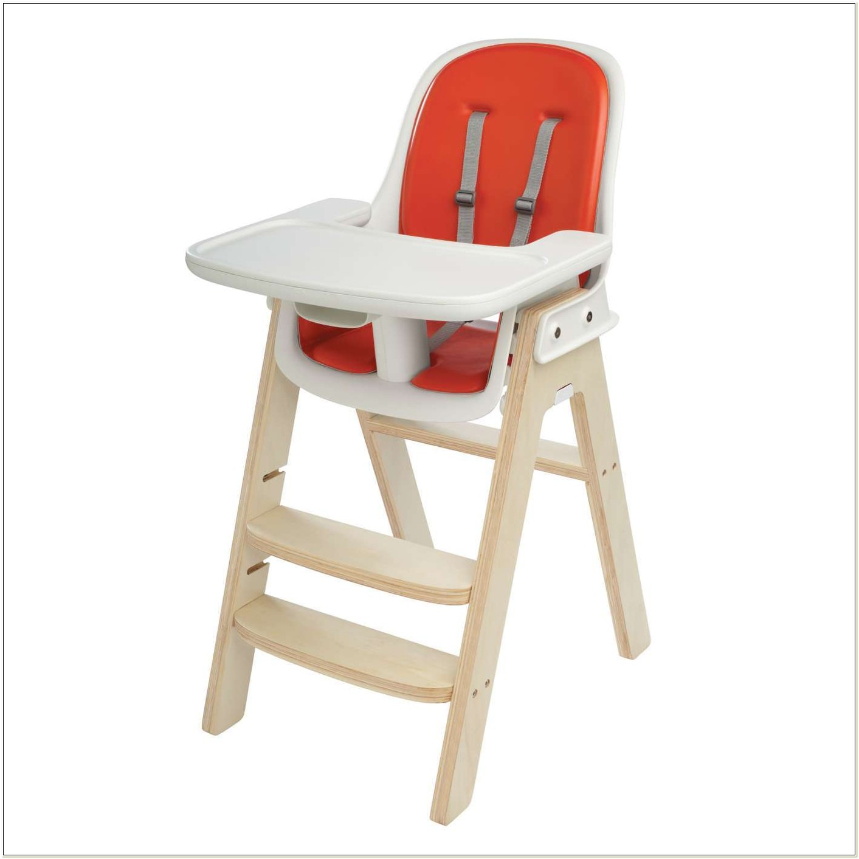 Oxo Tot High Chair Orange Birch