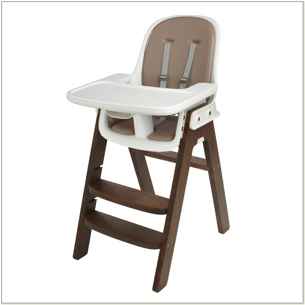 Oxo Tot Sprout Highchair Taupewalnut