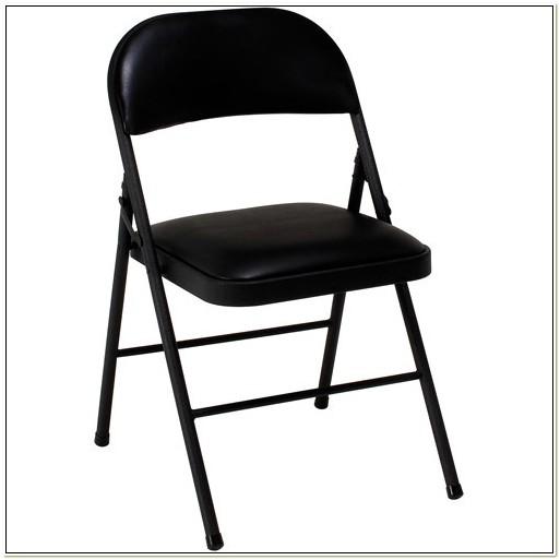 Padded Metal Folding Chairs Walmart