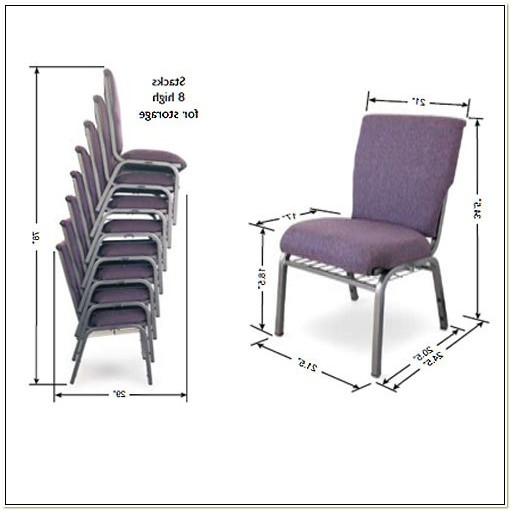 Padded Stackable Church Chairs