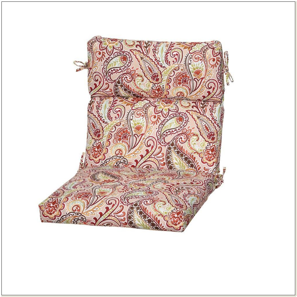 Paisley Outdoor Chair Cushions