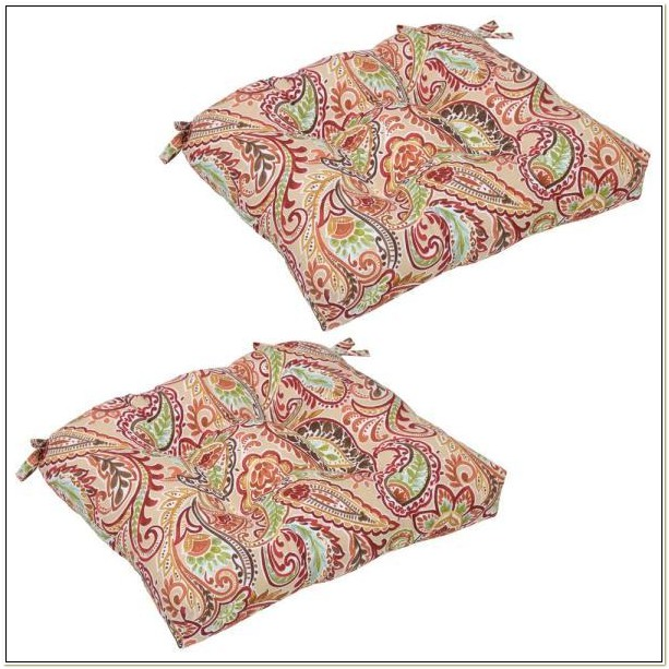 Paisley Outdoor Seat Cushions