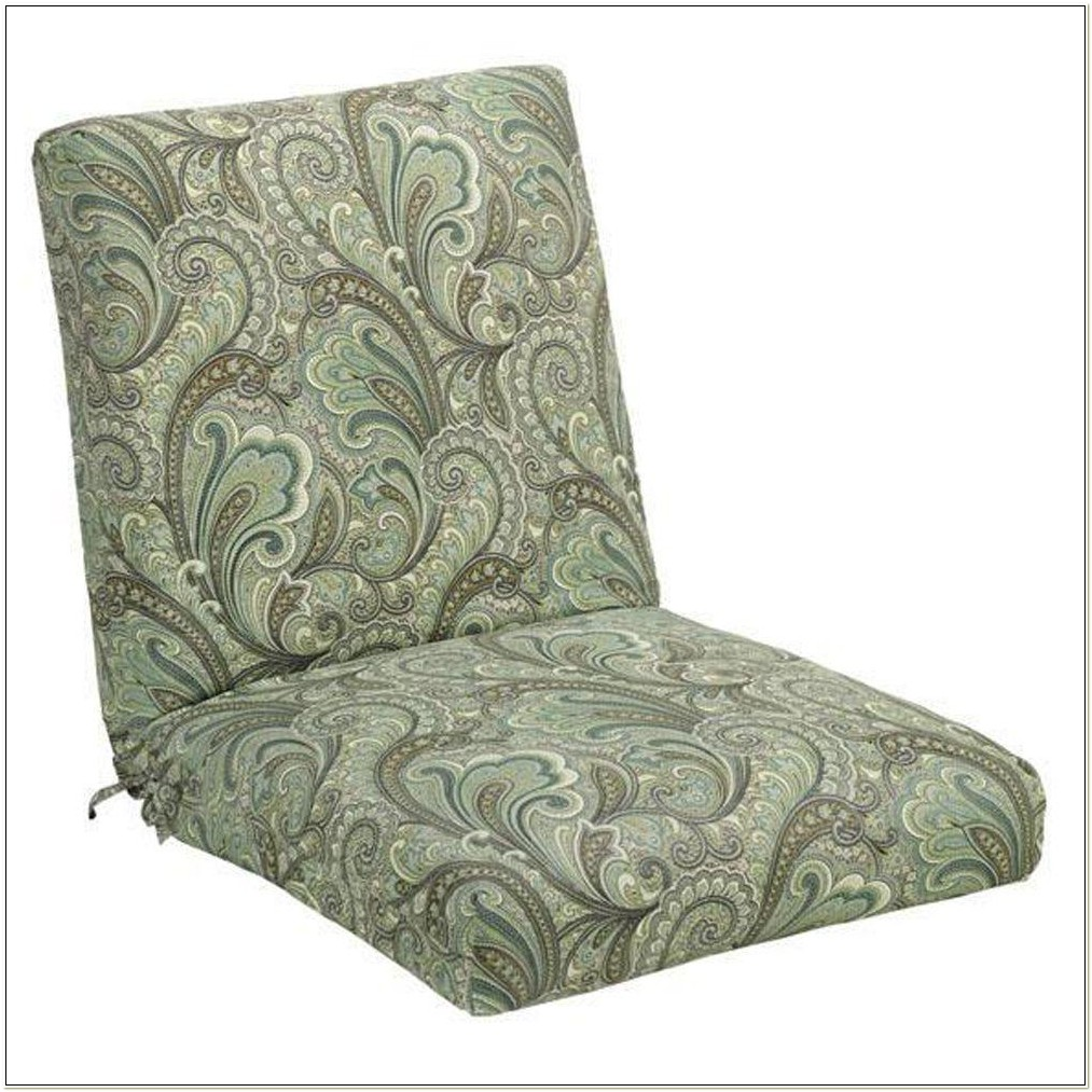 Paisley Patio Chair Cushions