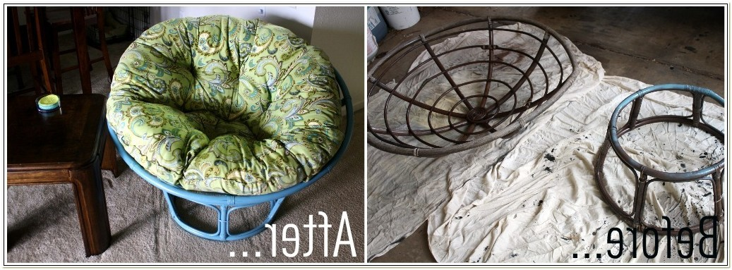 Papasan Chair Cushion Pattern