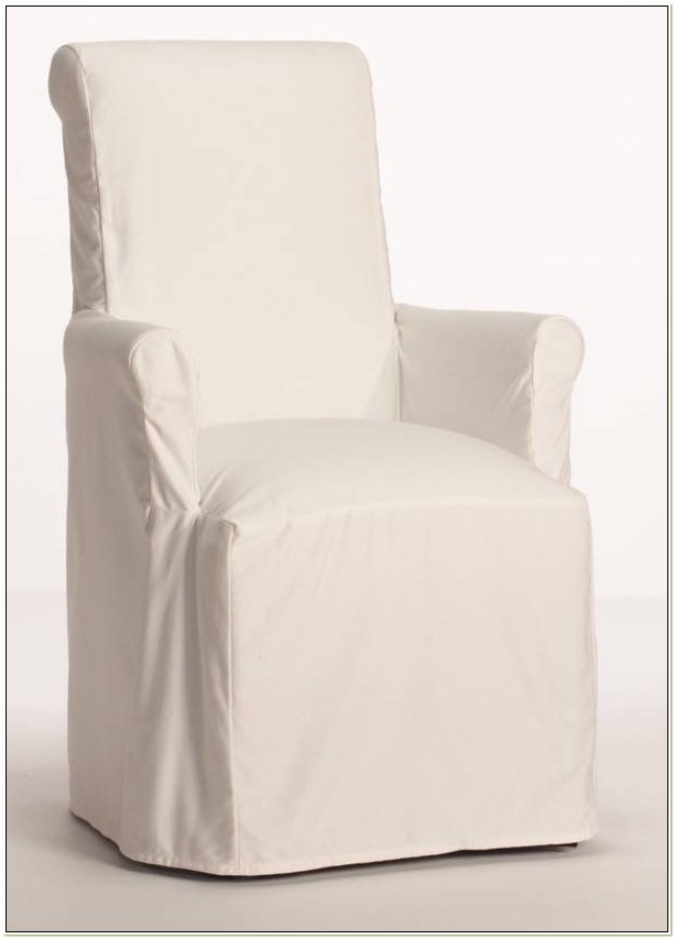 Parsons Chair With Arms Slipcovers