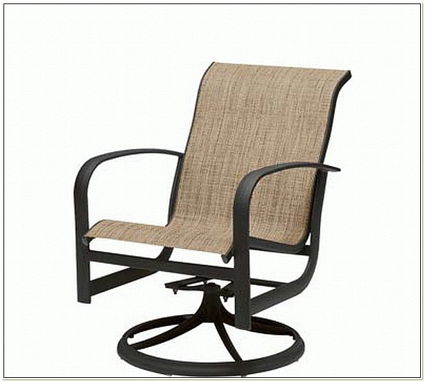 Patio Chairs That Rock And Swivel