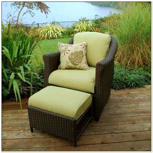 Patio Chairs With Hidden Ottoman