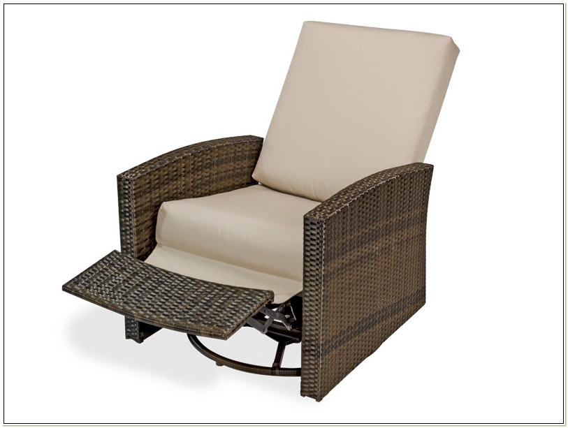 Patio Furniture Swivel Rocker Recliner