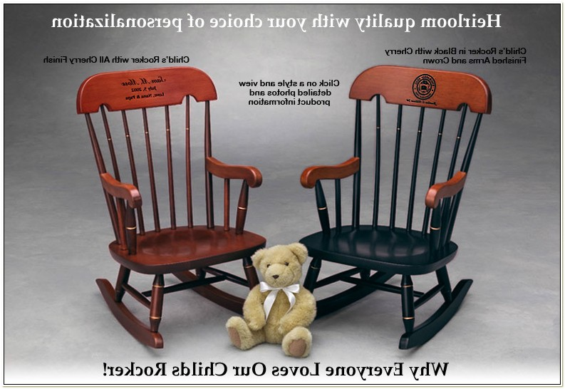 Personalized Rocking Chair For Adults