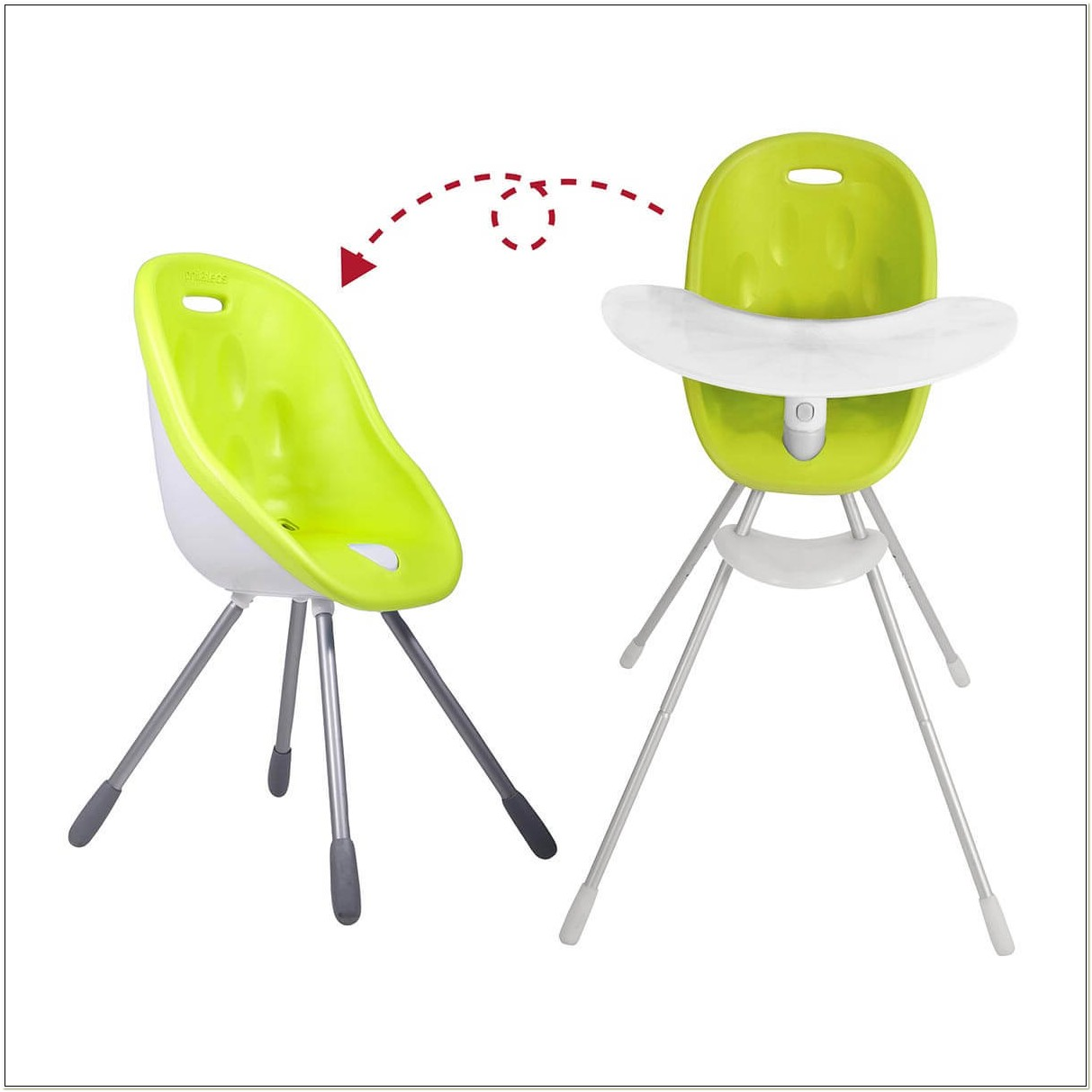 Phil And Teds Poppy Highchair Lime