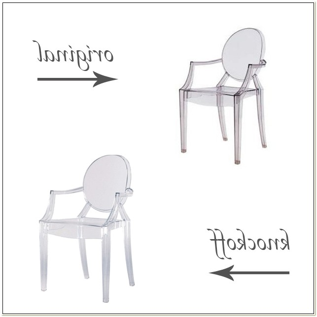 Philippe Starck Ghost Chairs Knock Off