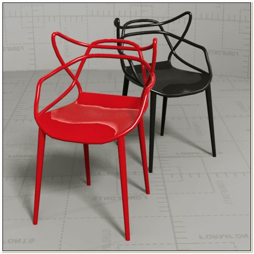 Philippe Starck Masters Chair 3d