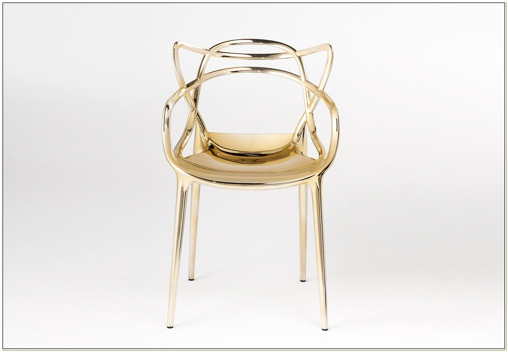 Philippe Starck Masters Chair Gold