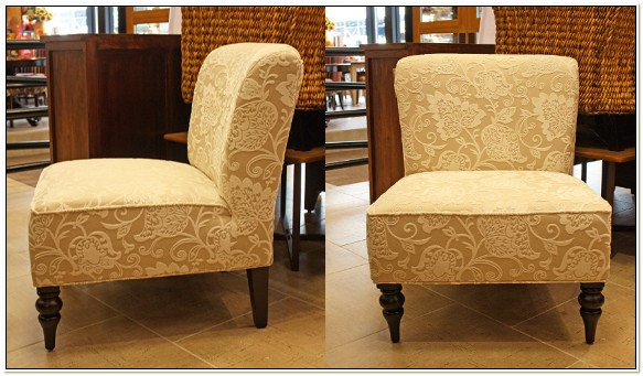 Pier One Slipper Chairs