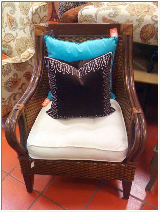 Pier One Wicker Chair Cushions