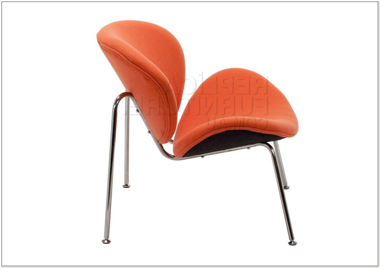Pierre Paulin Orange Slice Chair Replica