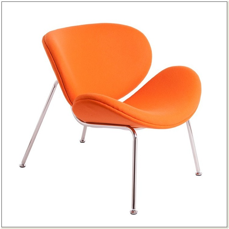Pierre Paulin Style Orange Slice Chair