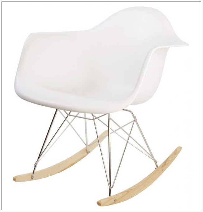 Pink Eames Rocking Chair Replica